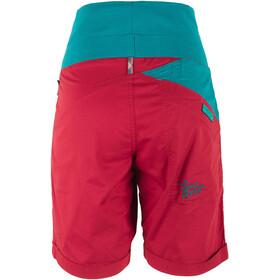 La Sportiva W's Ramp Shorts Berry/Emerald